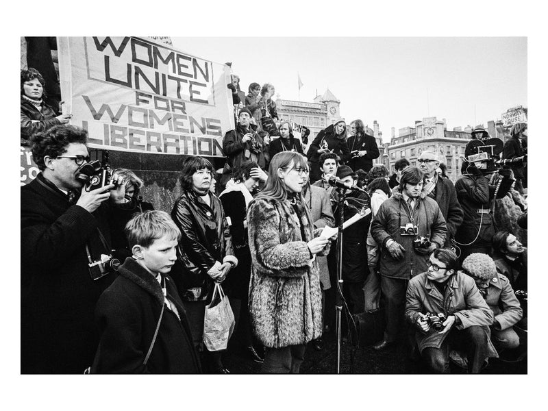 Women's Liberation Movement, Trafalgar Square, 1971