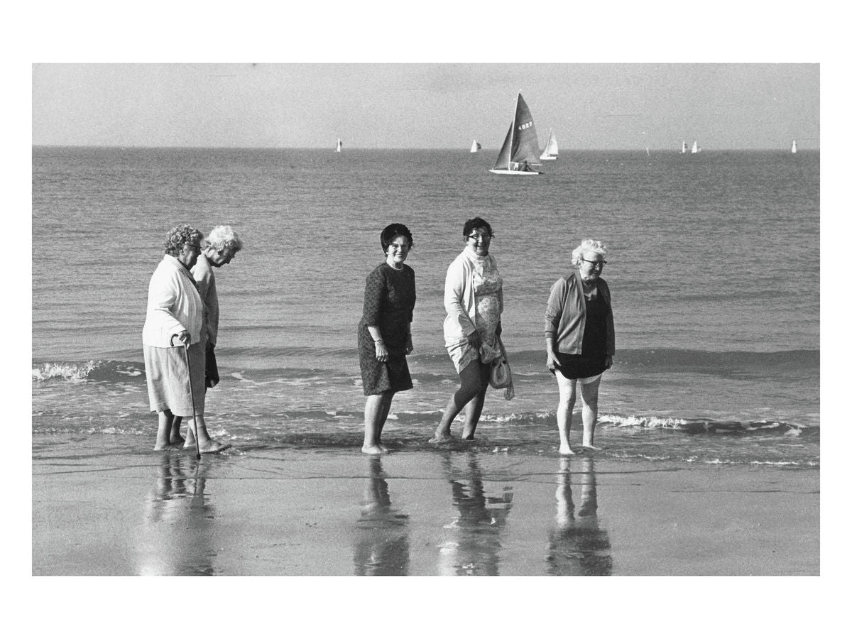 Margate beach, 1972