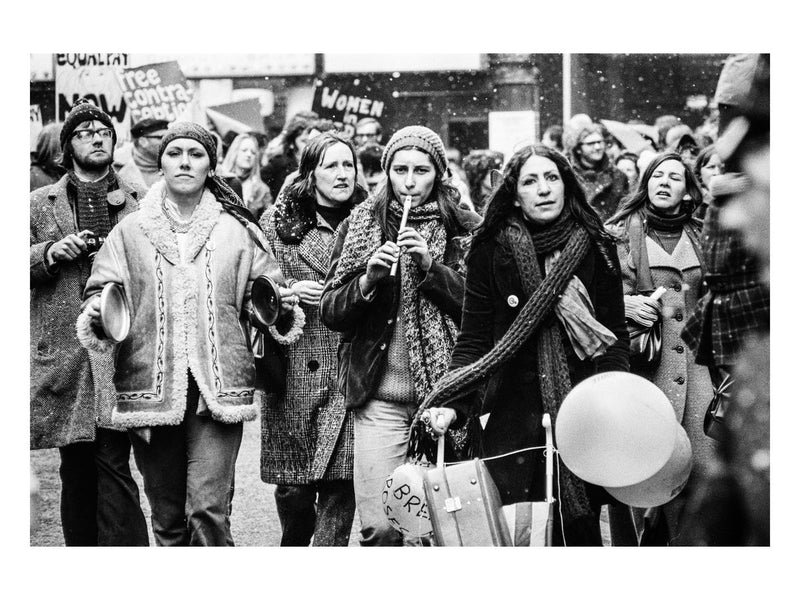 Women's Liberation Movement march, 1971