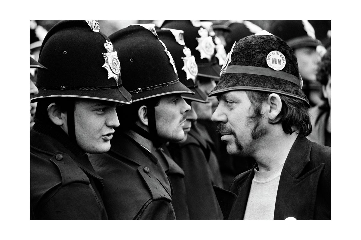 Battle of Orgreave: the miner and the copper