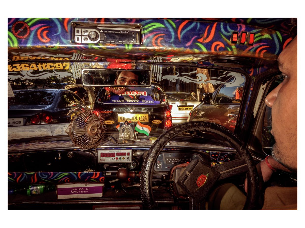 'Traffic Jam' 2015, Bombay, India