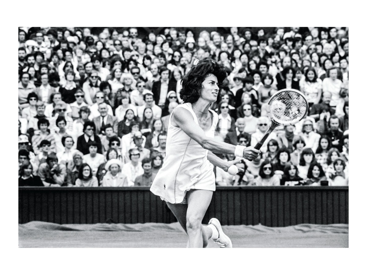 Virginia Wade, Wimbledon ladies final, 1977