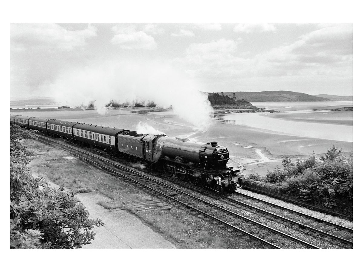 Flying Scotsman, Cumbria, c 1970