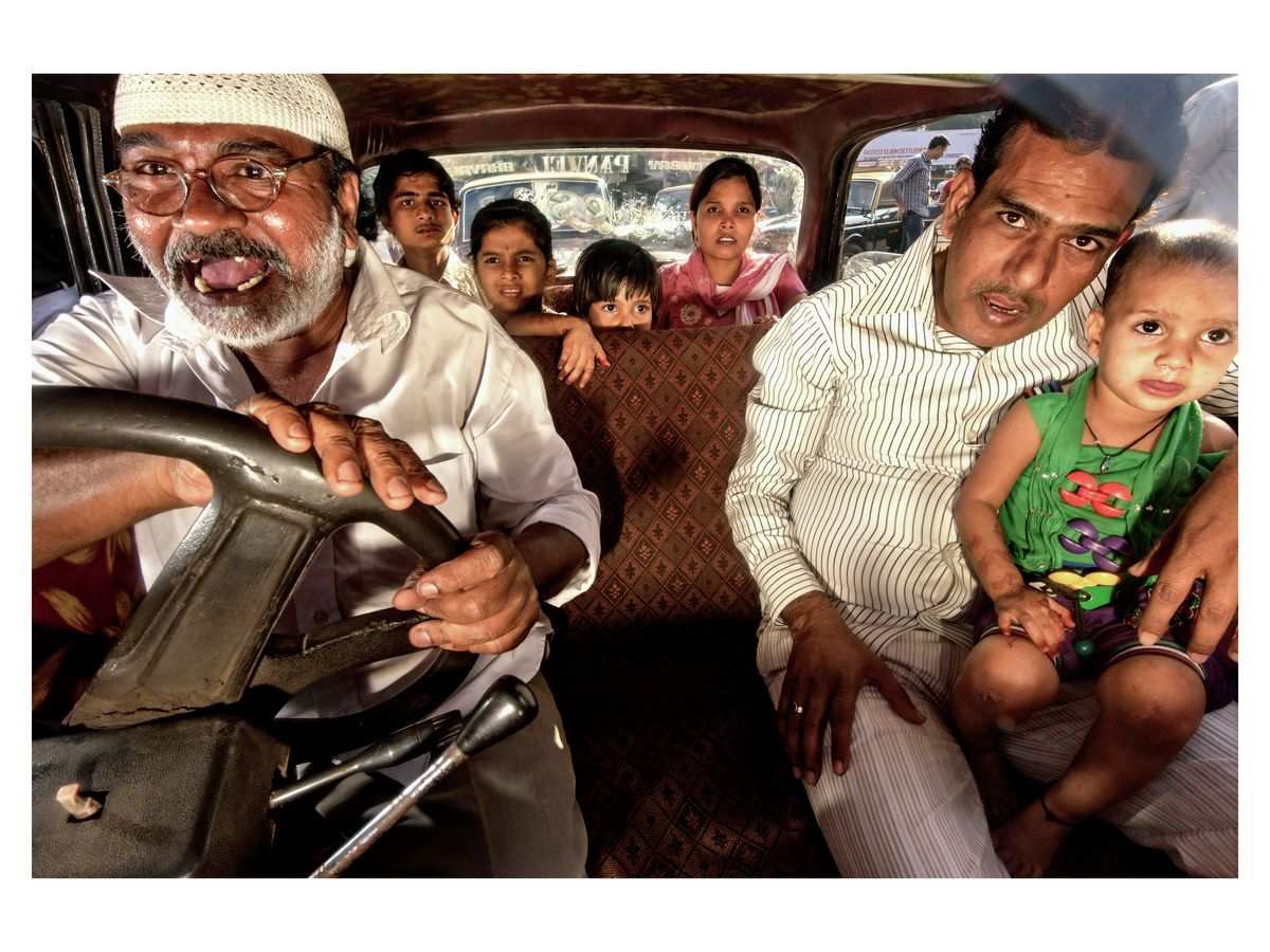 'Crazy Driver' 2011, Bombay, India