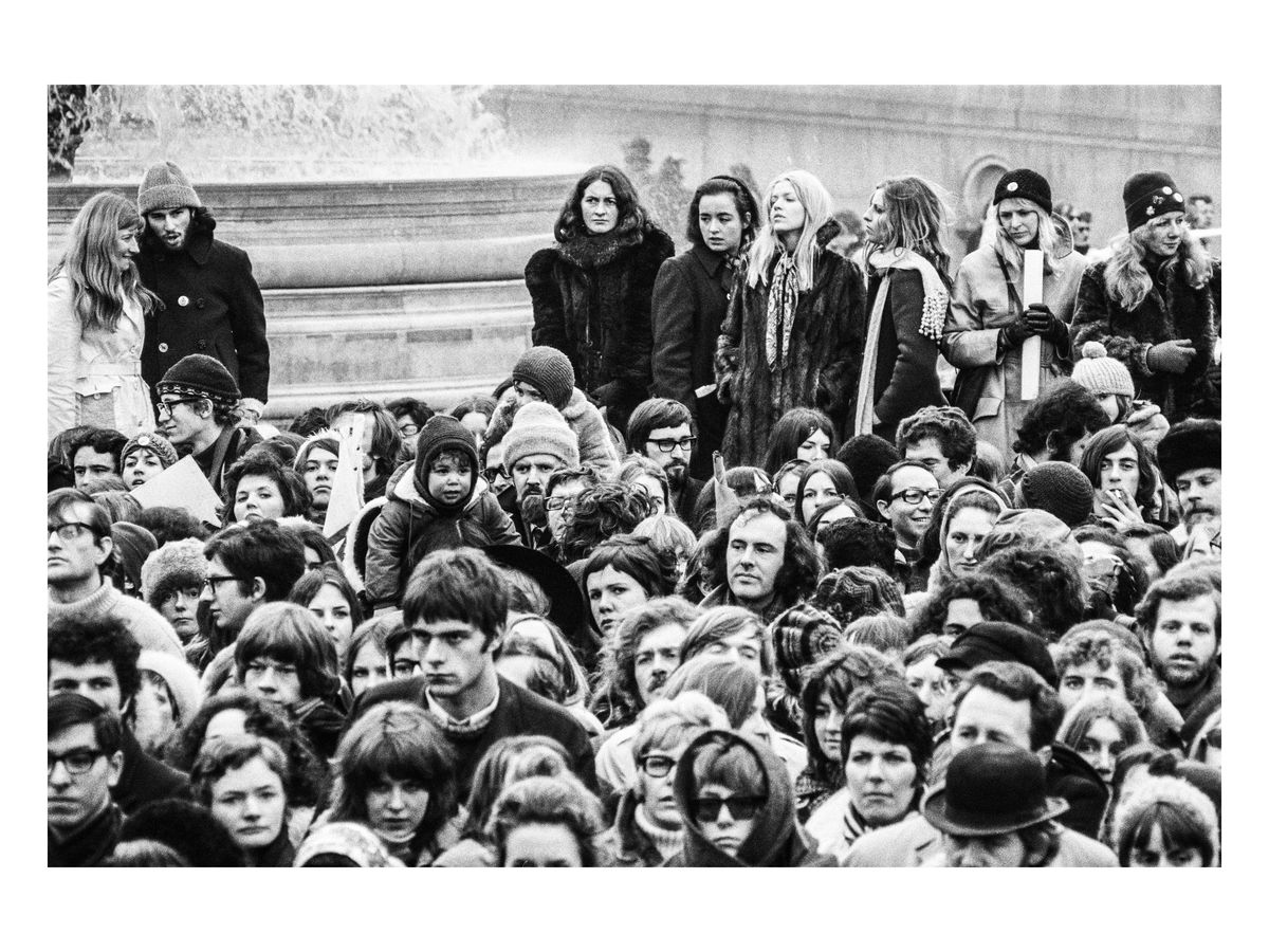 Women's Liberation Movement, Nelson's Column, 1971