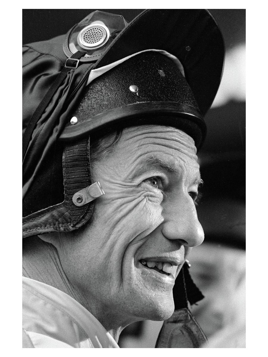 Lester Piggott, Sandown Races, 1984