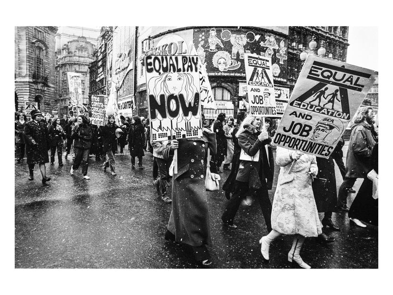 Women's Liberation Movement, Piccadilly Circus, 1971
