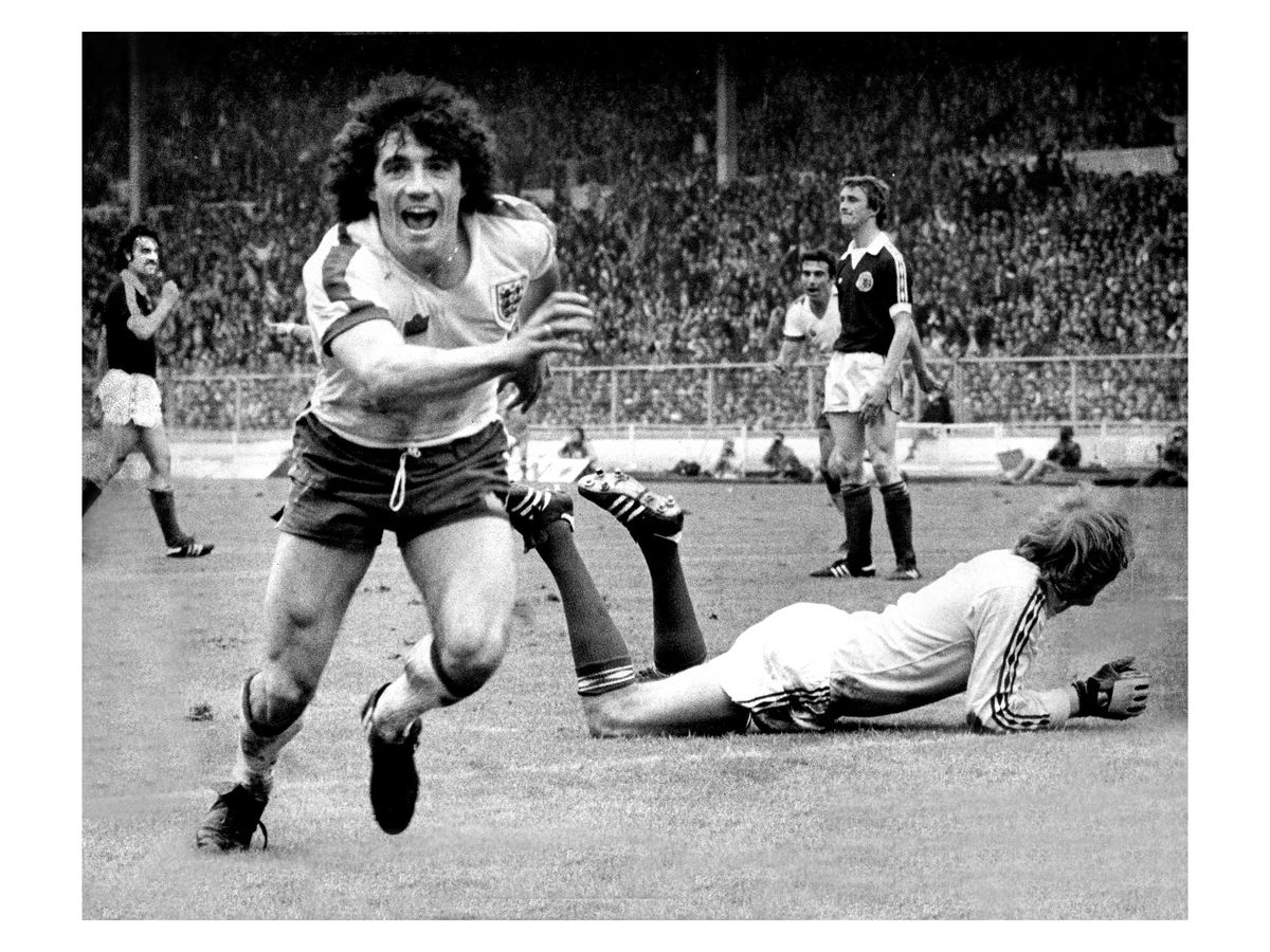 Kevin Keegan, Wembley, 1979