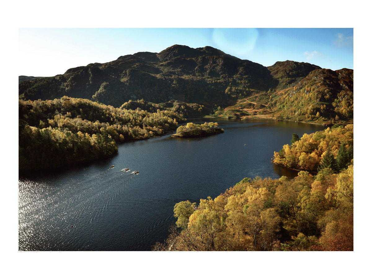 Rowers on Loch Katrine, October 2015