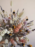 Bouquet pastel multicolore