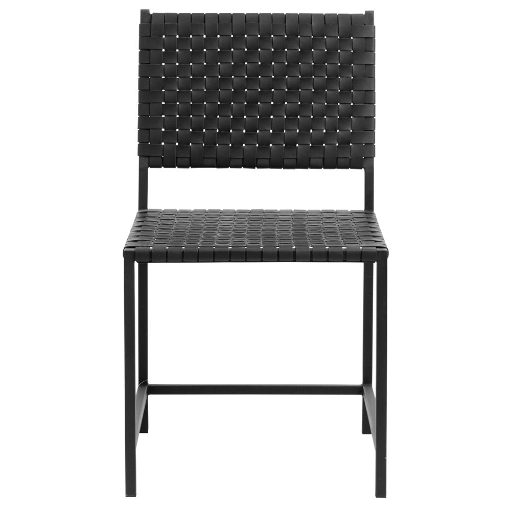 CHAIR lote de 2 sillas de comedor, color negro