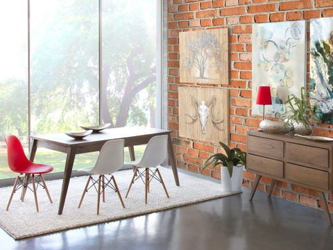 Image of AMARA mesa de comedor rectangular extensible