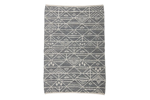 Image of GREY WOOL alfombra de lana