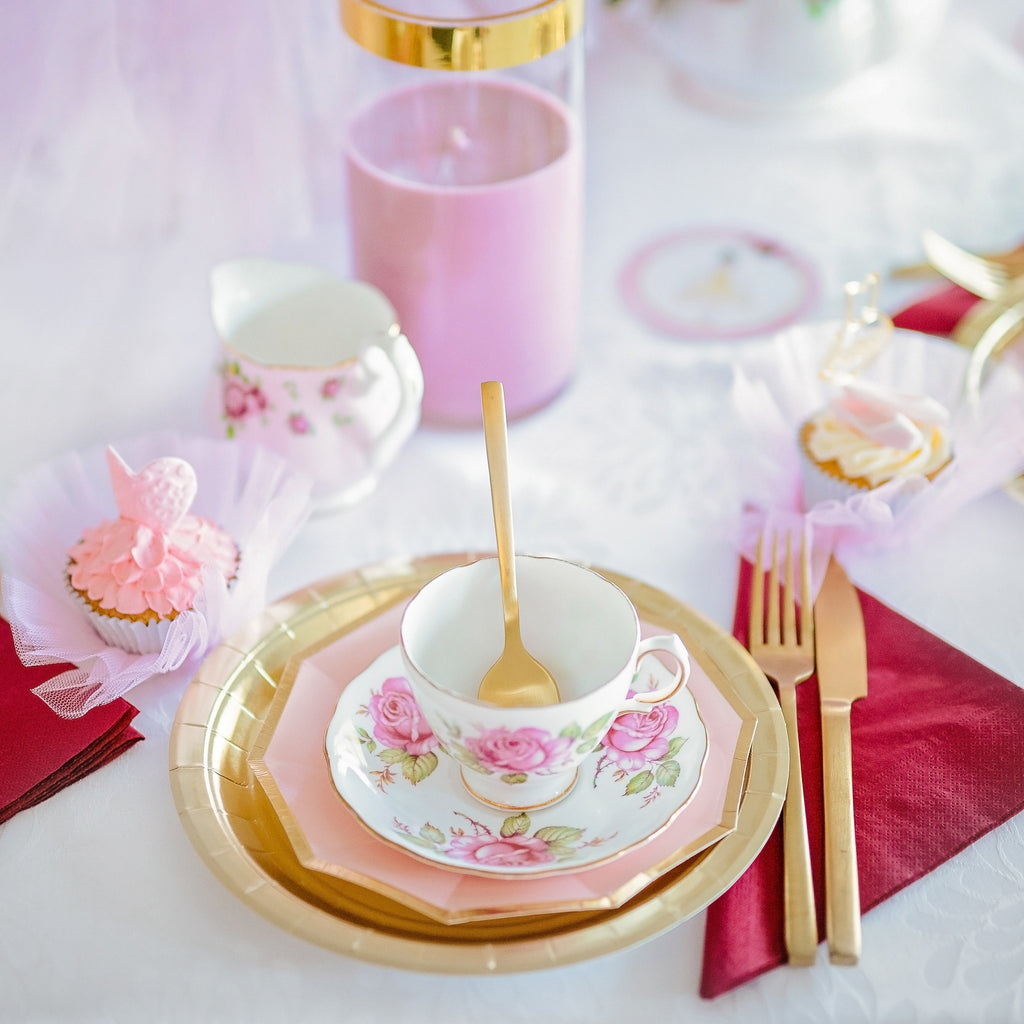Ballerina Tea Party Table Scape