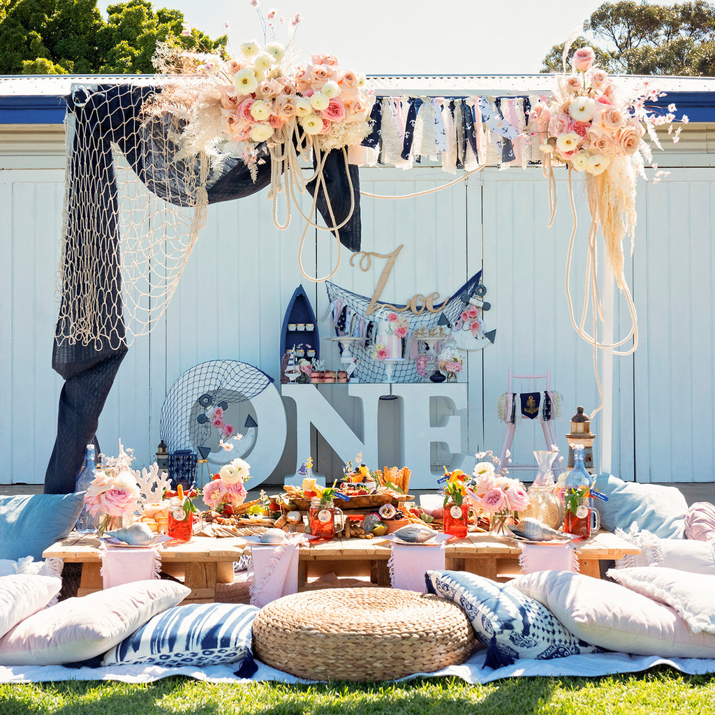 Girly Nautical Party in a Box