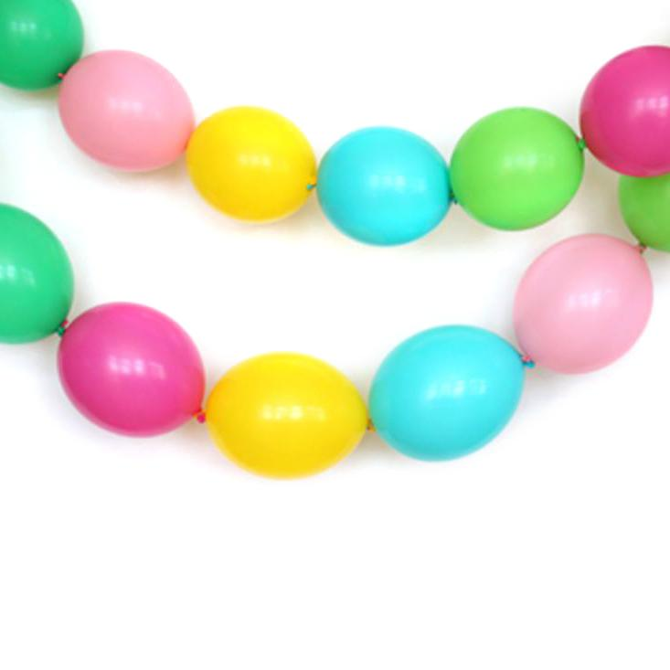 Aloha Linking Balloon Garland-Oh My Party