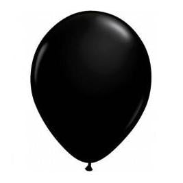 Black Latex Balloon-Oh My Party