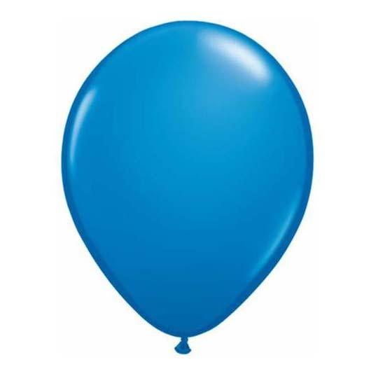 Dark Blue Latex Balloon-Oh My Party