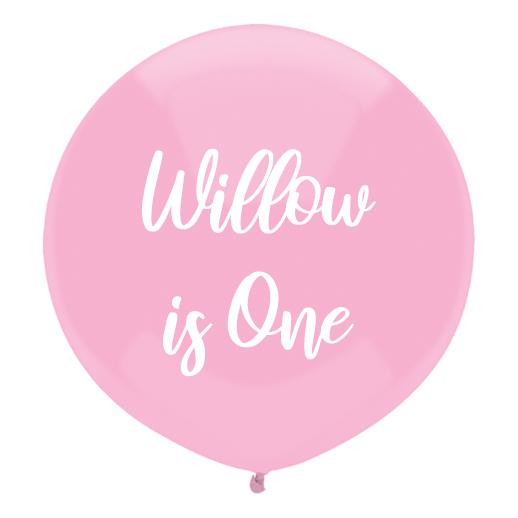 DIY Personalised Balloon-Oh My Party