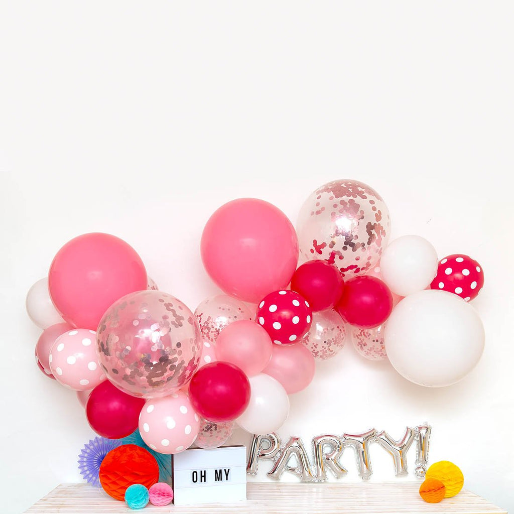 Flamingo Balloon Garland-Oh My Party