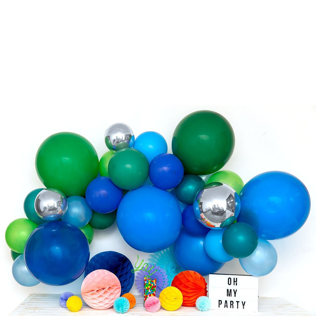 Hip Hip Hooray Balloon Garland-Oh My Party