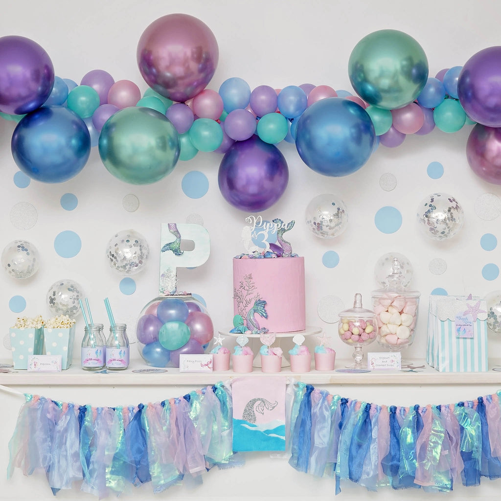 Jewel Balloon Garland-Oh My Party