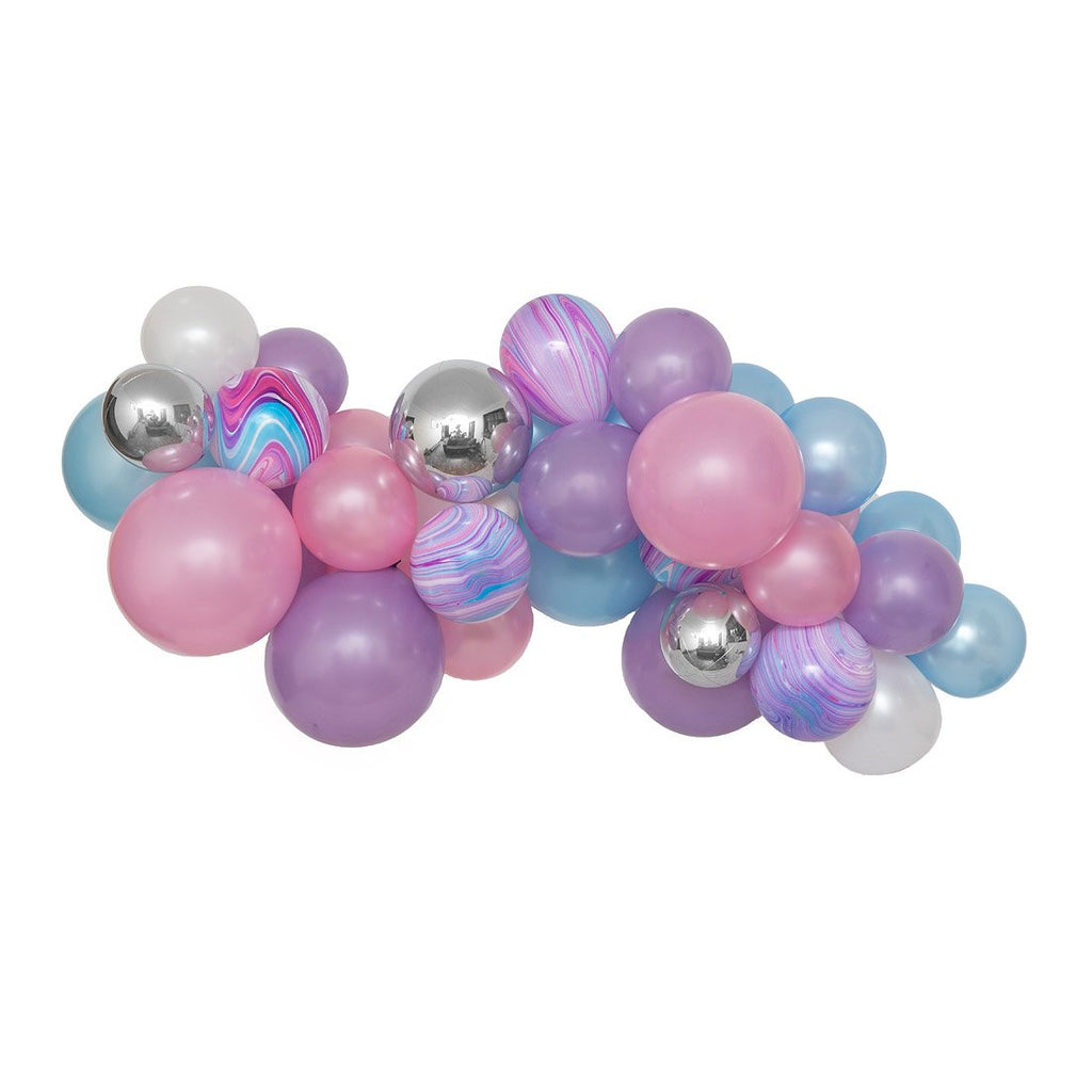 Mermaid Wishes Balloon Garland-Oh My Party