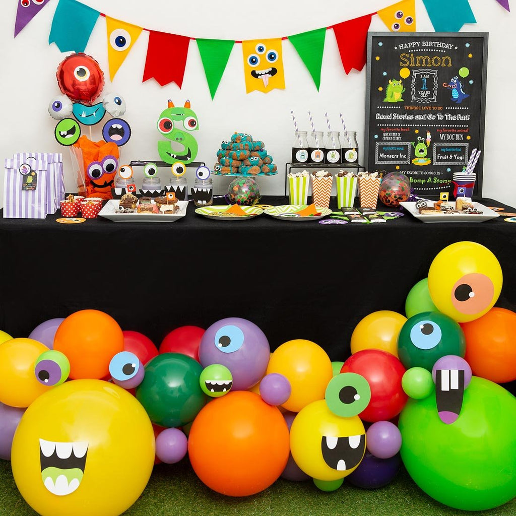 Monster Mash Balloon Garland-Oh My Party