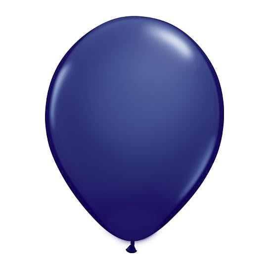 Navy Blue Latex Balloon-Oh My Party