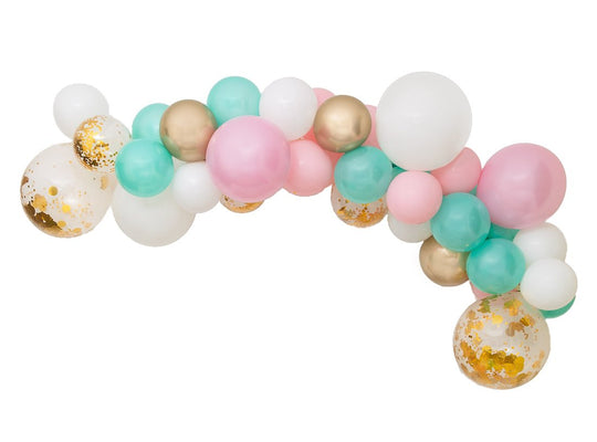 Oh So Pretty Balloon Garland-Oh My Party