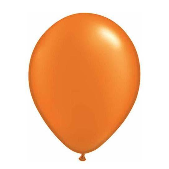 Pearl Orange Latex Balloon-Oh My Party
