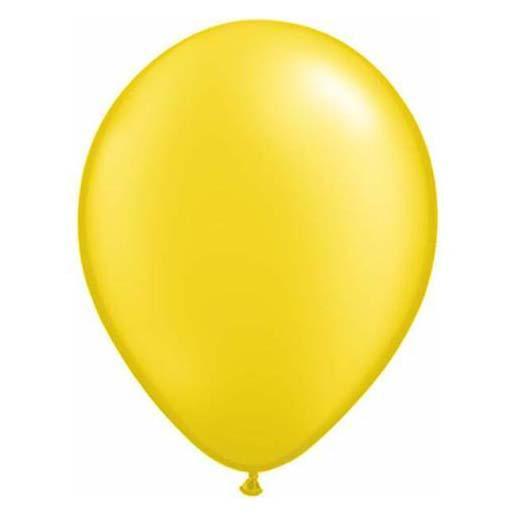 Pearl Yellow Latex Balloon-Oh My Party