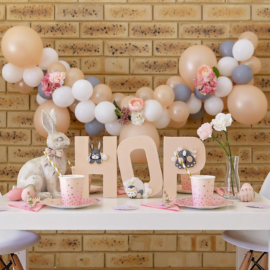 Pepples and Peaches Balloon Garland-Oh My Party