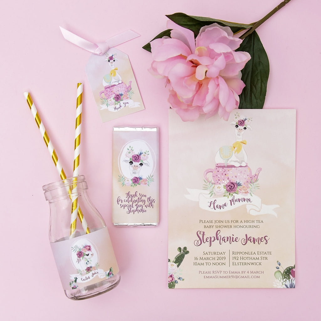 Printable Party Stationary-Oh My Party