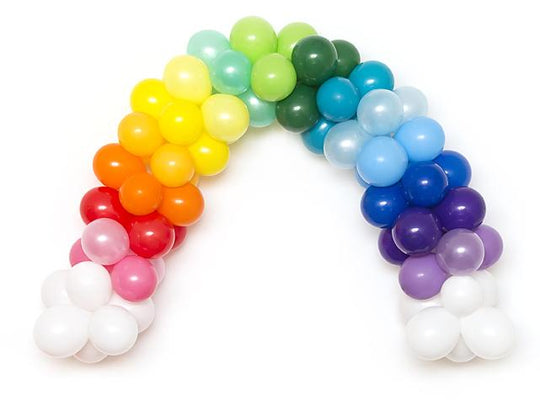 Rainbow Balloon Garland Kit-Oh My Party
