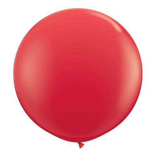 Red Latex Balloon-Oh My Party