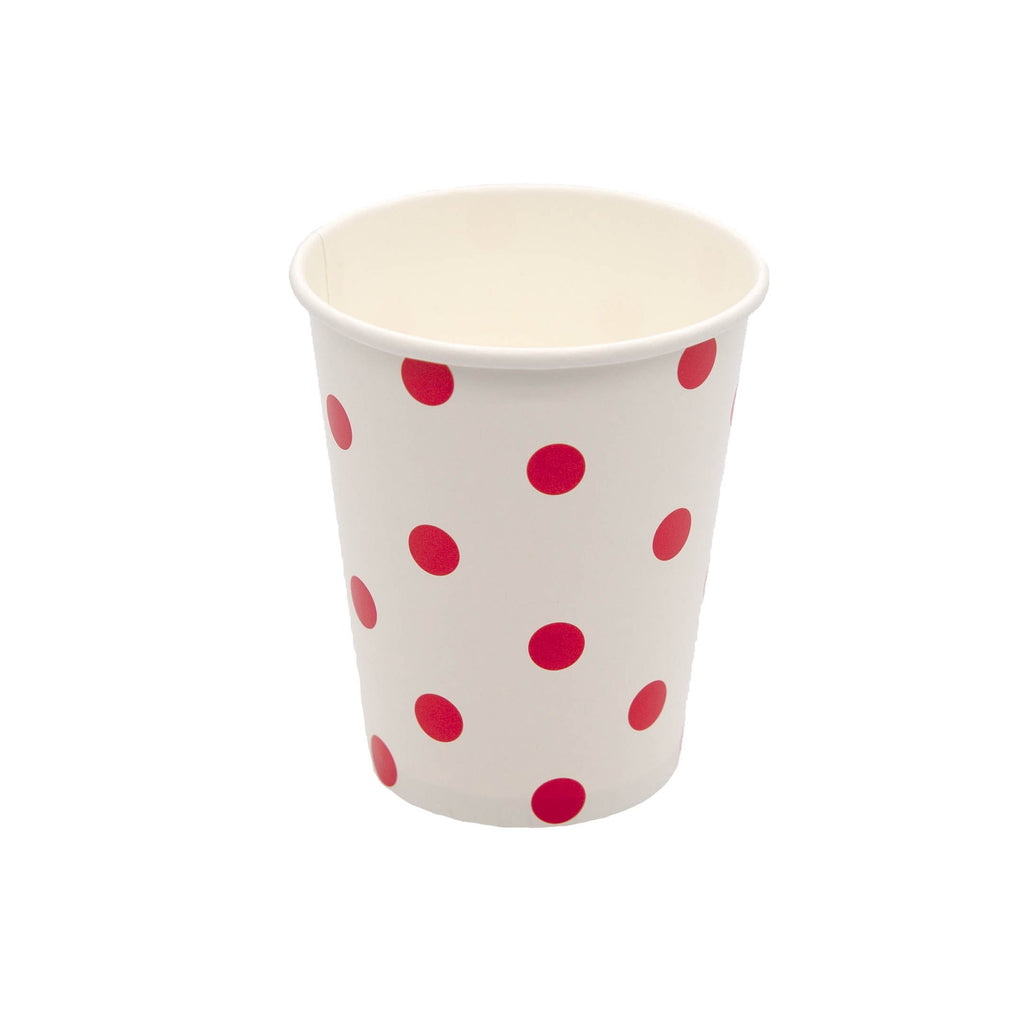 Red Spot Cup - 10 Pack-Oh My Party