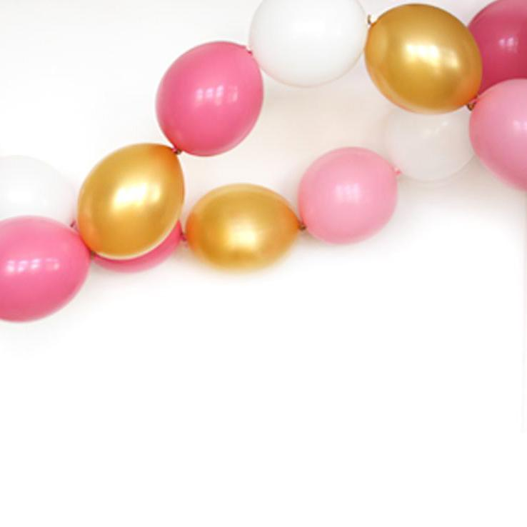 Royal Linking Balloon Garland-Oh My Party
