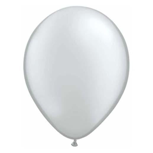 Silver Latex Balloon-Oh My Party