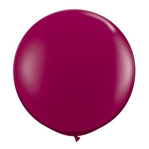 Sparkling Burgundy Latex Balloon-Oh My Party