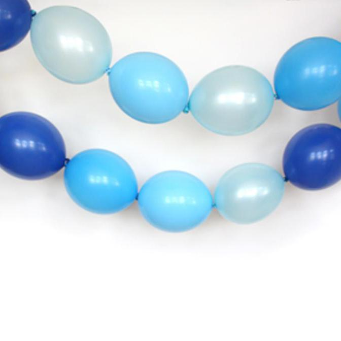 The Blues Linking Balloon Garland-Oh My Party