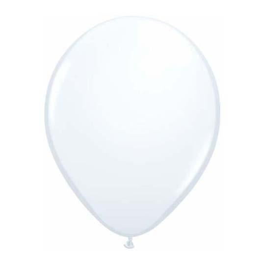 White Latex Balloon-Oh My Party