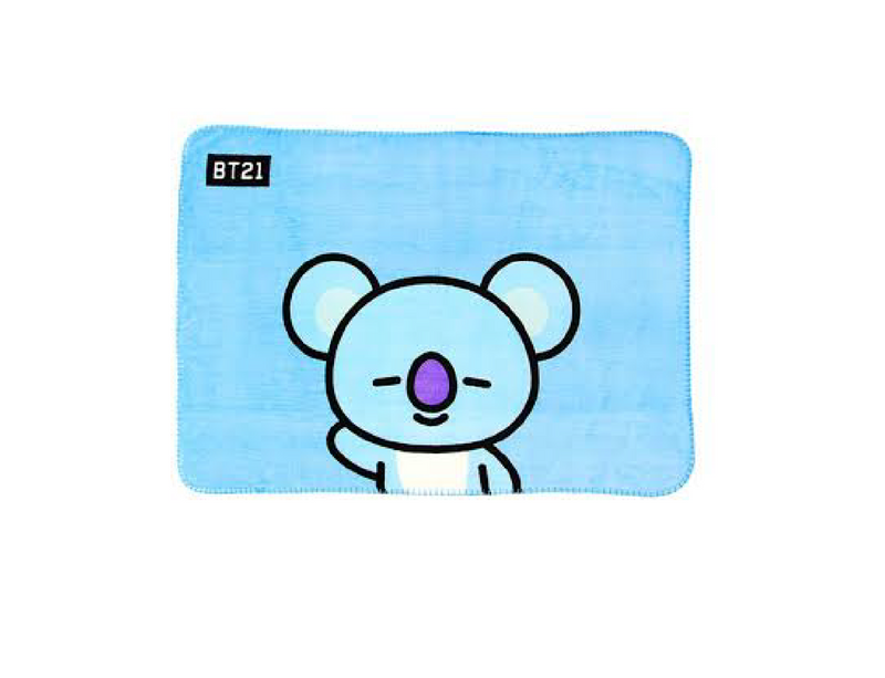 BT21 - Homeplus Collaboration Blanket Ver. KOYA