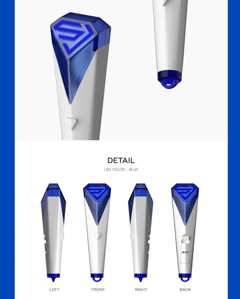 Super Junior - Mini Light Stick Keyring