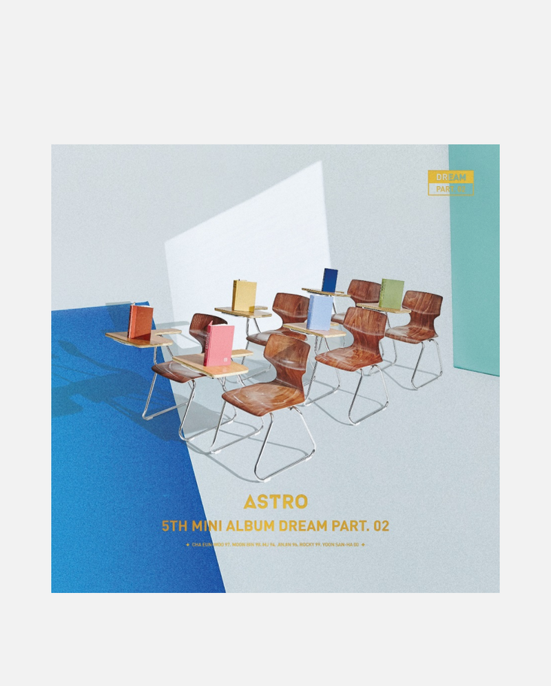 ASTRO - Dream Part.02 (Wish ver.) AUTOGRAFIADO
