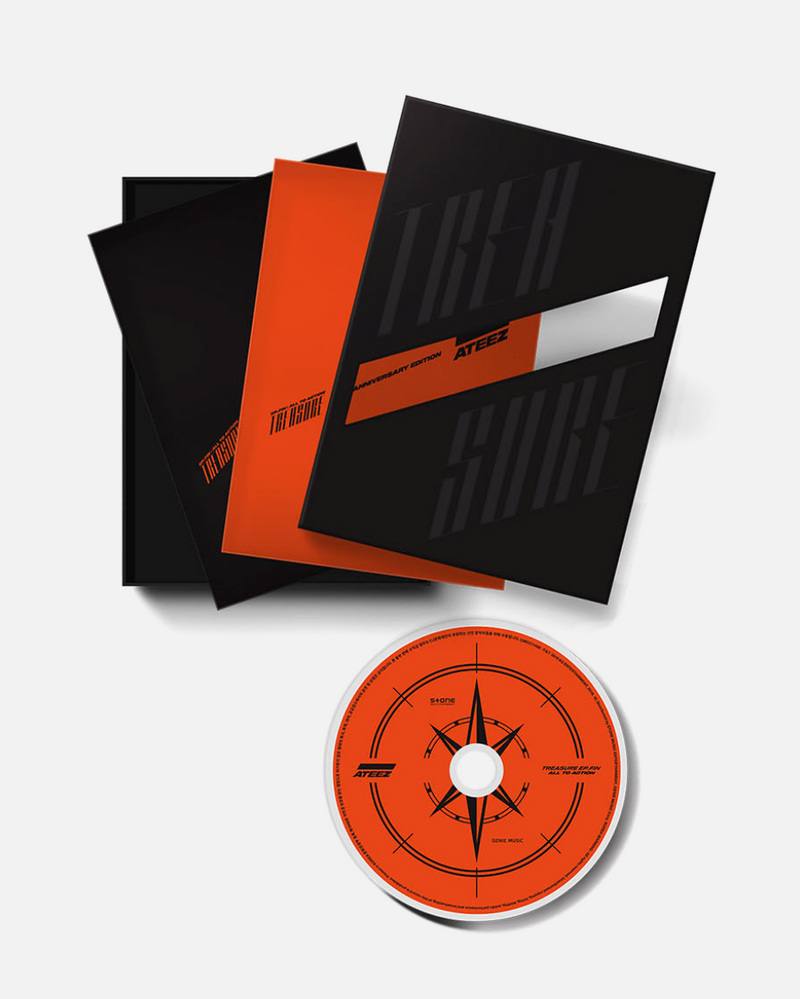 ATEEZ - TREASURE EP.FIN : All To Action 1st Anniversary Edition ver.
