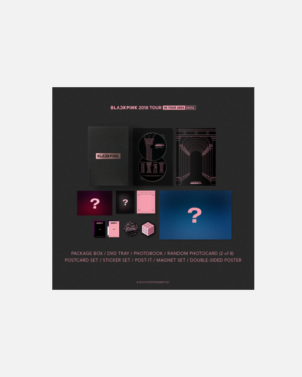 BLACKPINK - 2018 TOUR [IN YOUR AREA] SEOUL