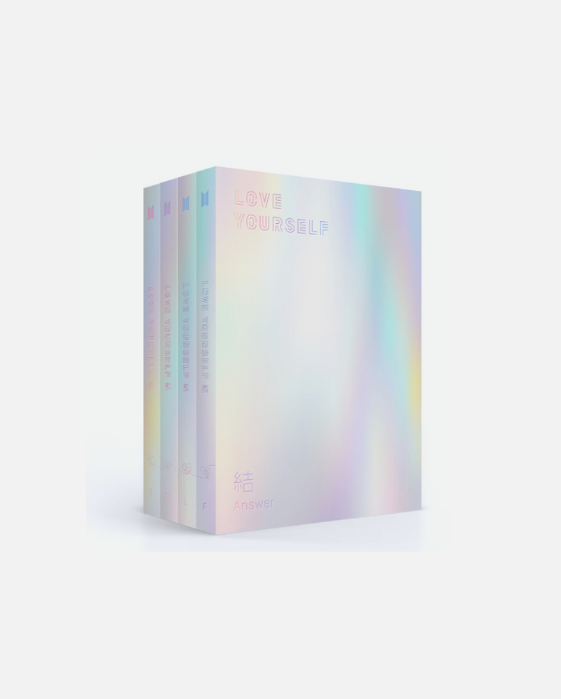 BTS - LOVE YOURSELF 結 'Answer' Repackage Album