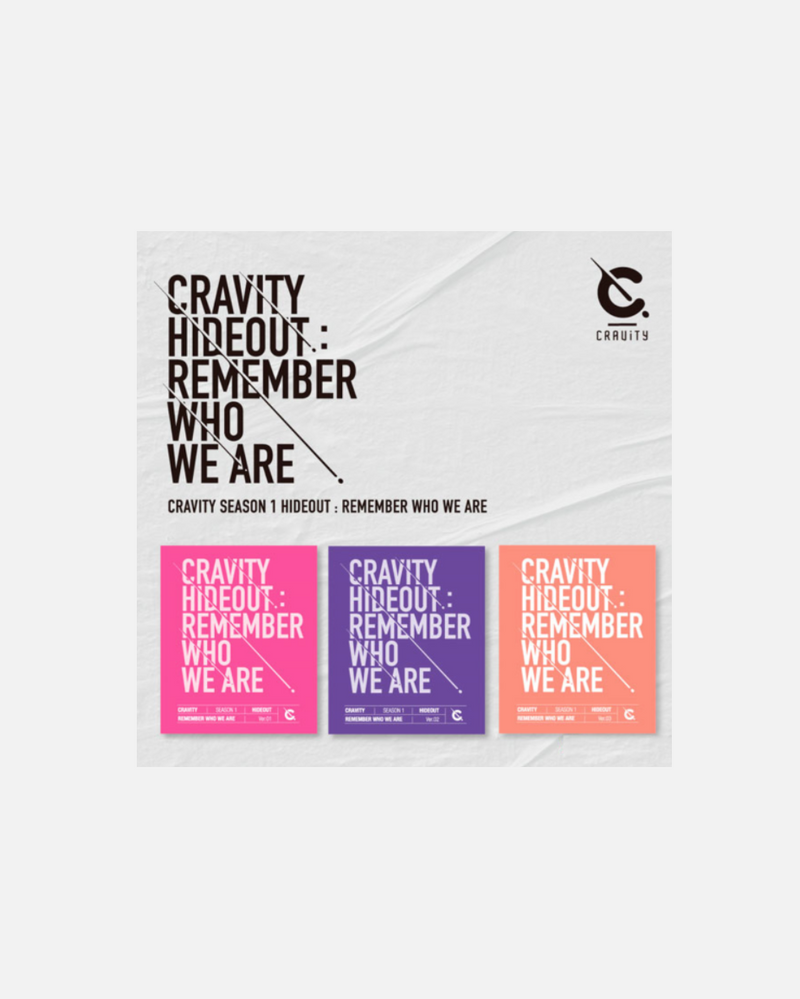 CRAVITY - HIDEOUT: REMEMBER WHO WE ARE