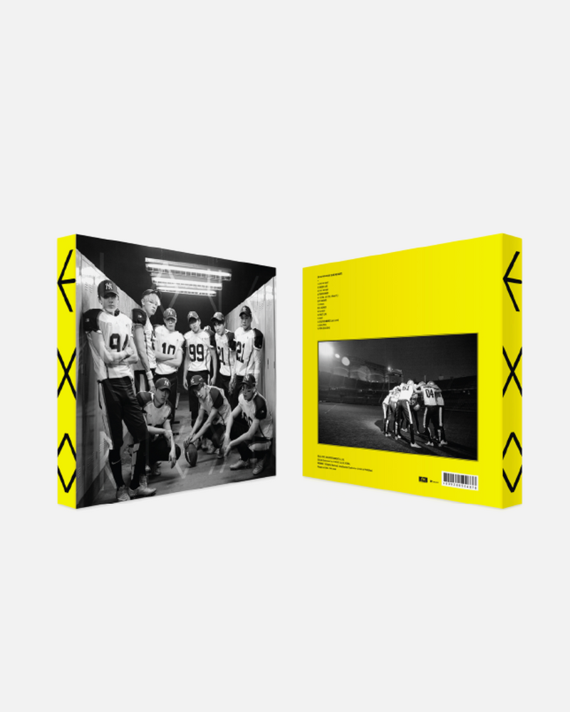 EXO - Love me right Ver. K (Repackage)